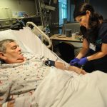 Tapping into IV takes pain out of blood draws